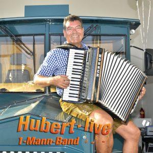 Alleinunterhalter Hochzeitsband Partyband Hubert-live aus Bayern