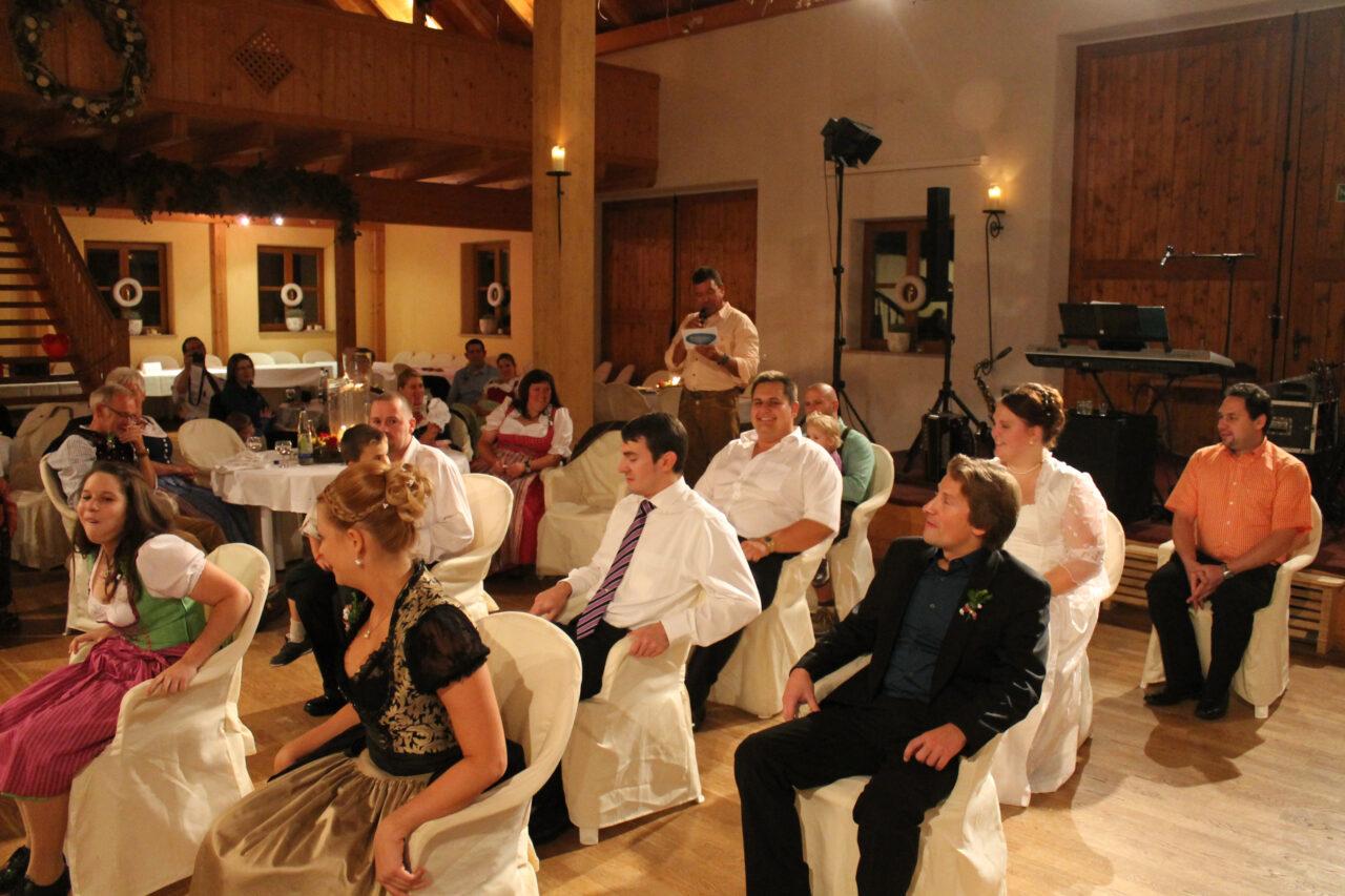 Hochzeitsspiel Alleinunterhalter Hubert-live Straubing