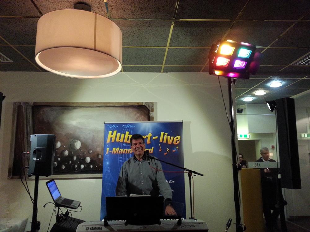 Silvester Alleinunterhalter Hubert-live Straubing