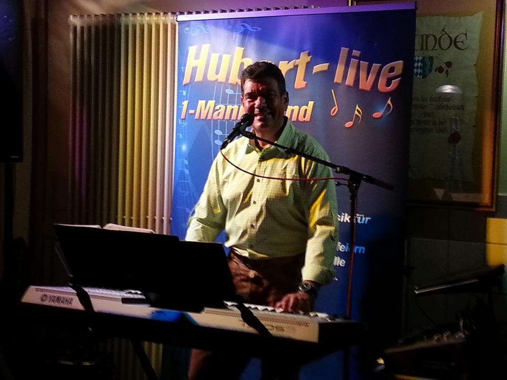 Weinfest Irlbach Partyband Hubert-live Bayern