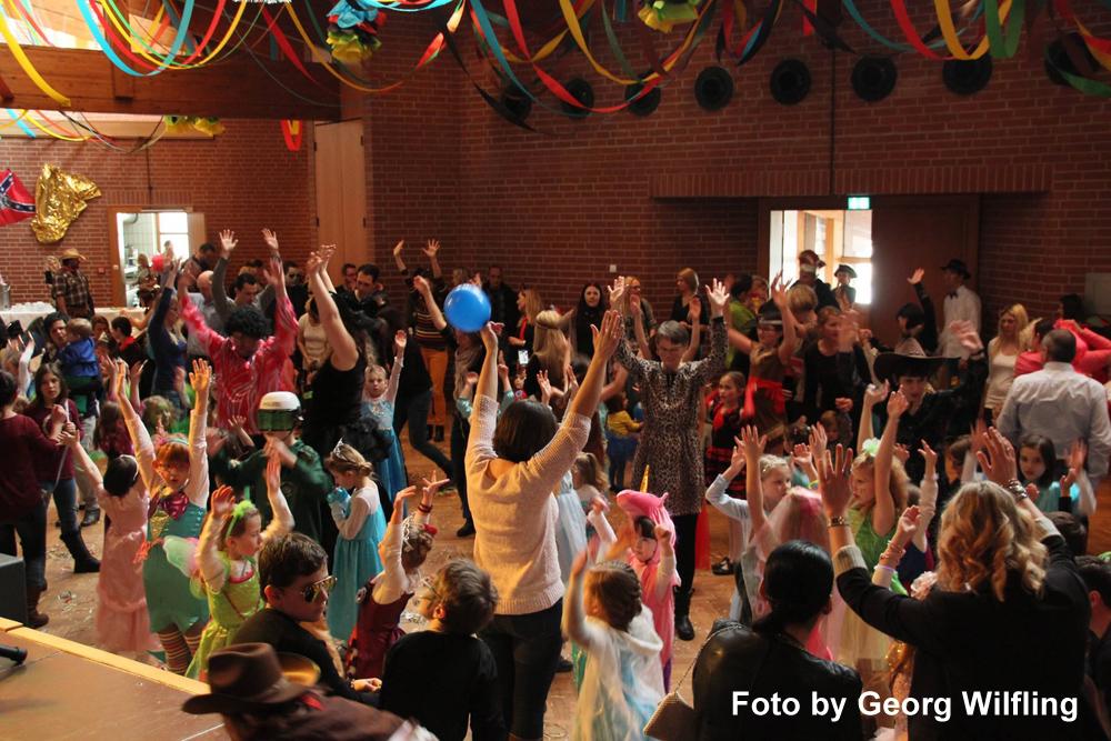 Kinderfasching Partyband Hubert-live Bayern