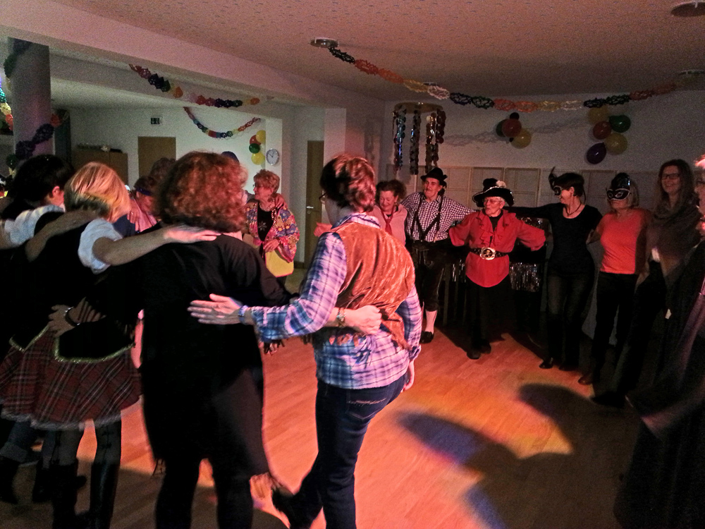 Weiberfasching Partyband Hubert-live Bayern