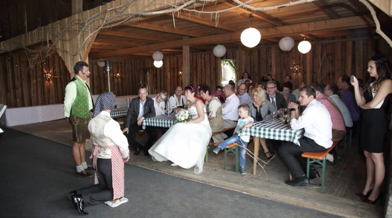 Brautentführung Alleinunterhalter Hubert-live Straubing
