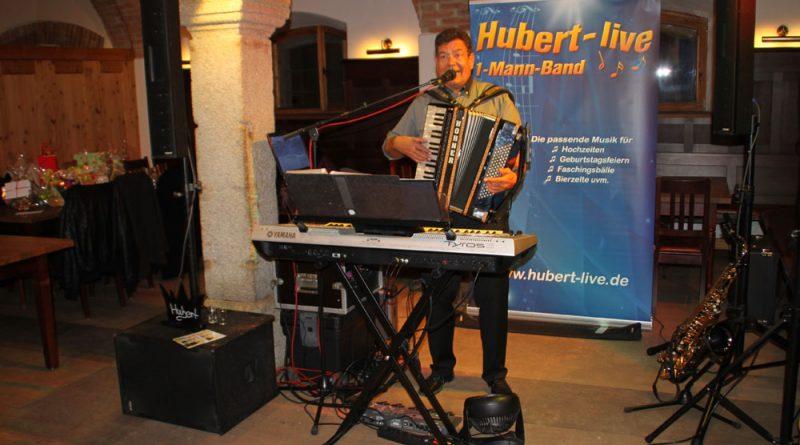 Geburtstagsparty Hubert-live
