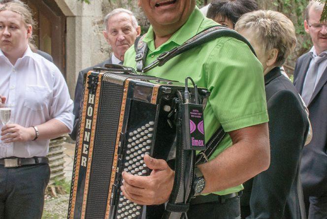 Hochzeitsband Hubert-live Hochzeit Schlossegg