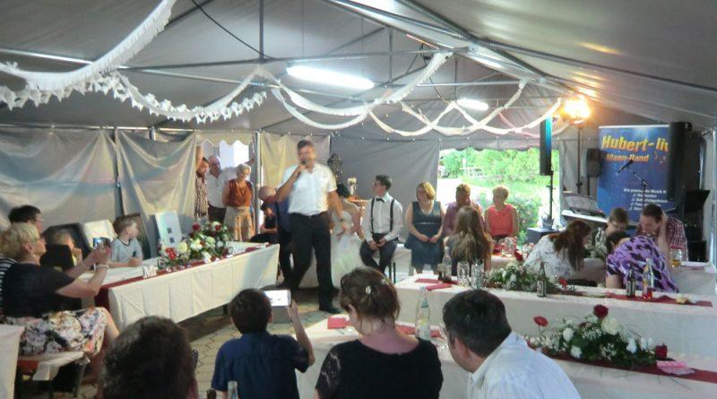 Alleinunterhalter Hochzeitsband Hubert-live
