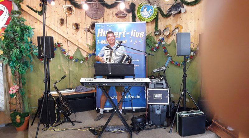 Fischerfest-Straubing mit Alleinunterhalter Hubert-live
