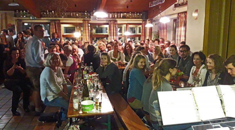 Partyband Hubert bei Weinfest in Irlbach