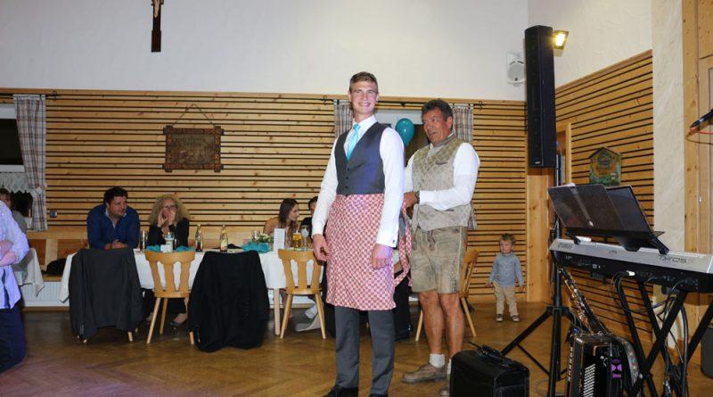 Hochzeitsmusker Hubert Brautentführung