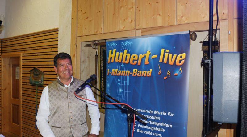 Alleinunterhalter Hubert Hochzeit