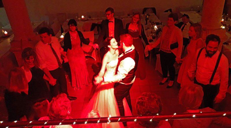 romantischer Schlußtanz Hochzeit Straubing
