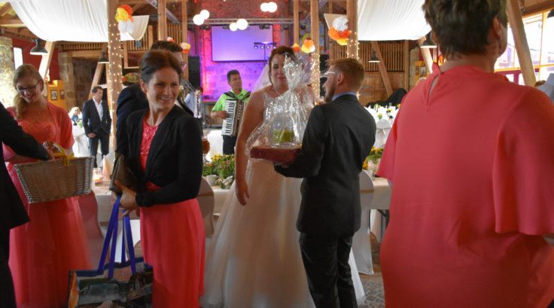 Begrüßungsständchen Hochzeit